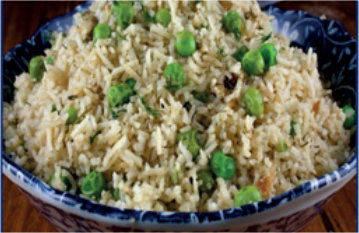 Rice with Peas and Dill